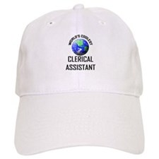 World's Coolest CLERICAL ASSISTANT Baseball Cap