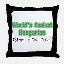 World's Coolest Hungarian Throw Pillow