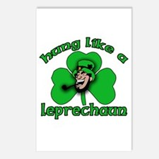 Hung Like a Leprechaun Postcards (Package of 8)