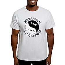 kayak yin yang T-Shirt