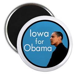 Iowa for Obama Refrigerator Magnet