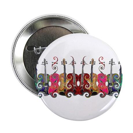 """ViolinSwirls 2.25"""" Button (100 pack)"""