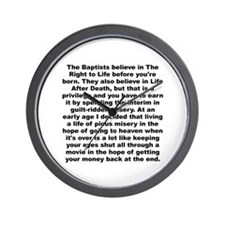 A whitney brown Wall Clock