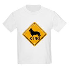 Corgi X-ing T-Shirt