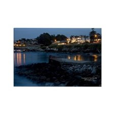 Monterey at Dusk Rectangle Magnet (10 pack)