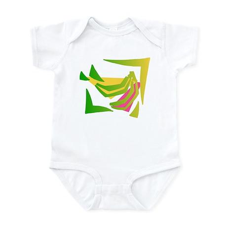 ABSTRACT BANANAS Infant Bodysuit