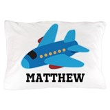 Personalized airplane Pillow Cases
