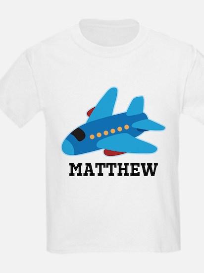 Personalized Airplane Jet Plane T-Shirt