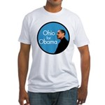 Ohio Pro-Obama Fitted T-Shirt