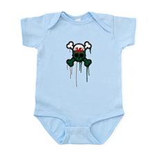 Welsh Punk Skull Infant Bodysuit