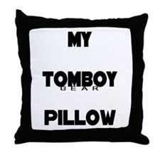 TOMBOY Gear Throw Pillow