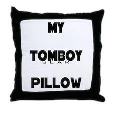 TOMBOY Gear Throw Pillow
