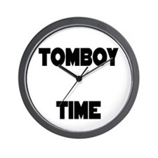TOMBOY Time Wall Clock
