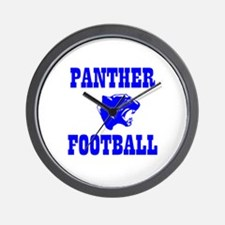 Panther Football Wall Clock