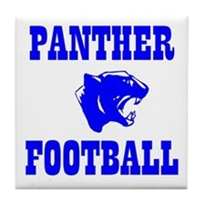 Panther Football Tile Coaster