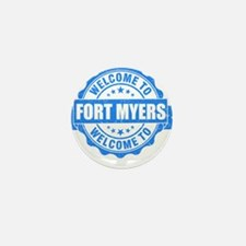 Summer fort myers- florida Mini Button