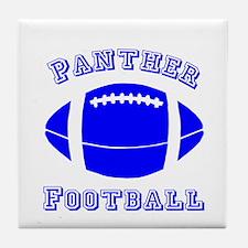 Panther Football Tile Coaster