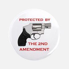 """2ND AMENDMENT 3.5"""" Button"""