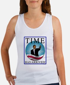 Obama - Time Has Arrived Women's Tank Top