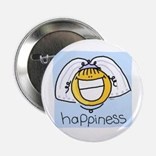 Happiness Bride Button