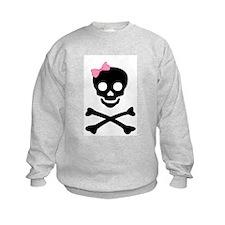 little (girl) pirate Sweatshirt