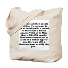 Funny A whitney brown Tote Bag