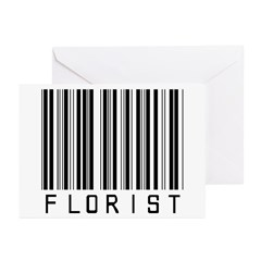 Florist Barcode Greeting Cards (Pk of 20)