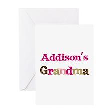 Addison's Grandma Greeting Card