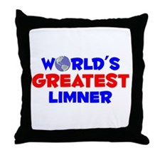 World's Greatest Limner (A) Throw Pillow