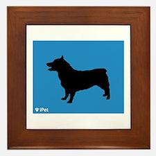 Vallhund iPet Framed Tile