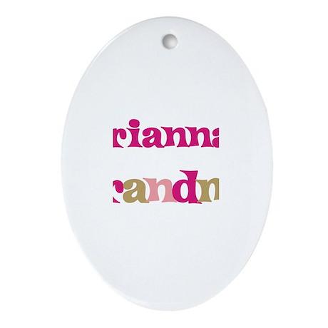 Arianna's Grandma Oval Ornament