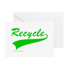 RECYCLE Greeting Cards (Pk of 20)