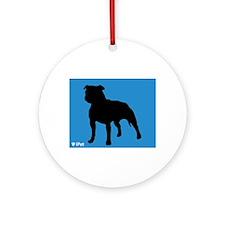 Stafford iPet Ornament (Round)