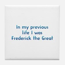 PL Frederick the Great Tile Coaster