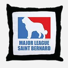 ML St. Bernard Throw Pillow