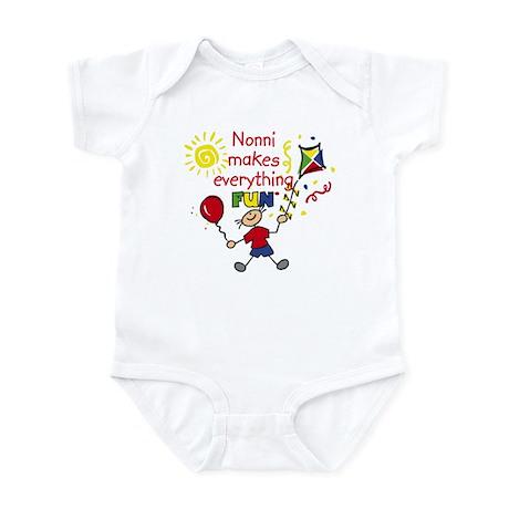 Nonni Fun Boy Infant Bodysuit