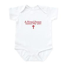 Blood Donor Jesus Infant Bodysuit