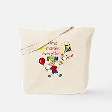Oma Fun Boy Tote Bag