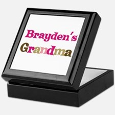 Brayden's Grandma Keepsake Box