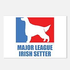 ML Irish Setter Postcards (Package of 8)