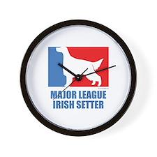 ML Irish Setter Wall Clock