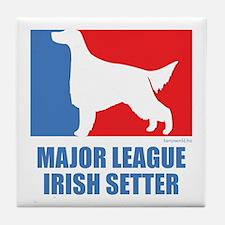 ML Irish Setter Tile Coaster