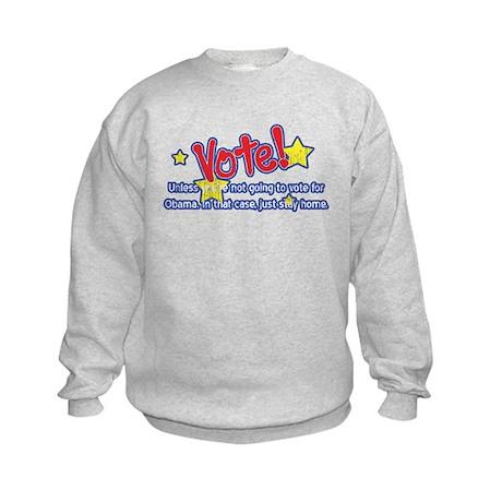 Vote for Obama Kids Sweatshirt
