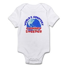 World's Greatest Chimn.. (E) Infant Bodysuit