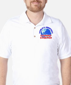 World's Greatest Chimn.. (E) Golf Shirt