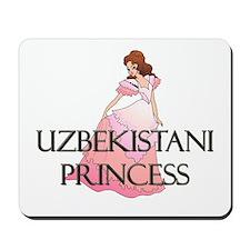 Uzbekistani Princess Mousepad