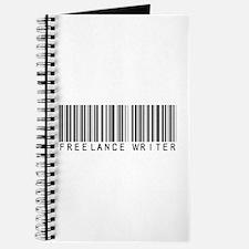 Freelance Writer Barcode Journal