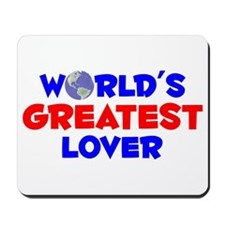 World's Greatest Lover (A) Mousepad