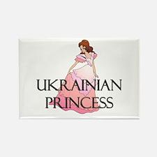 Ukrainian Princess Rectangle Magnet