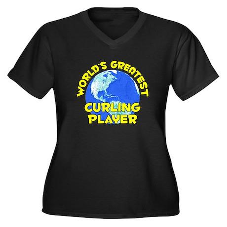 World's Greatest Curli.. (D) Women's Plus Size V-N
